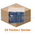 Microfasertuch Kimberly Clark WYPALL 40 x 40 cm Blau
