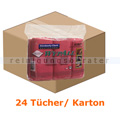 Microfasertuch Kimberly Clark WYPALL Rot