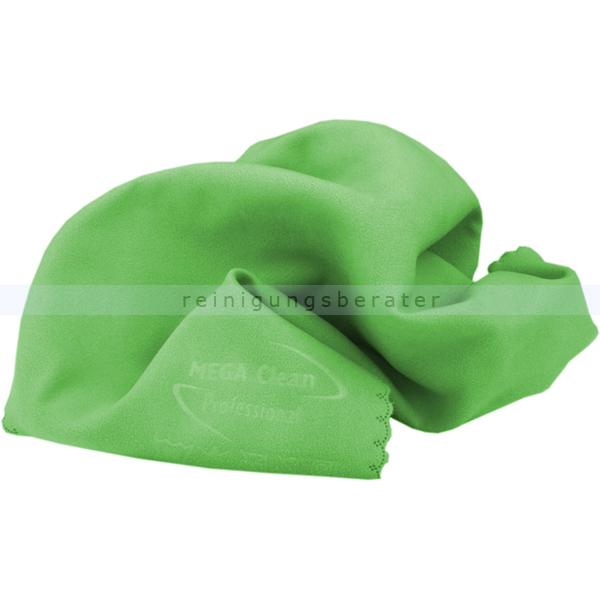 microfasertuch mega clean softtuch gr n 40x40 cm. Black Bedroom Furniture Sets. Home Design Ideas