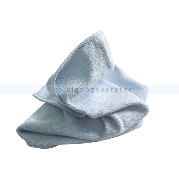 Microfasertuch Mega Clean, Stretch Light blau 40x40 cm