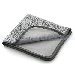 Microfasertuch Mega Clean Tuch to go silbergrau 38 x 38 cm
