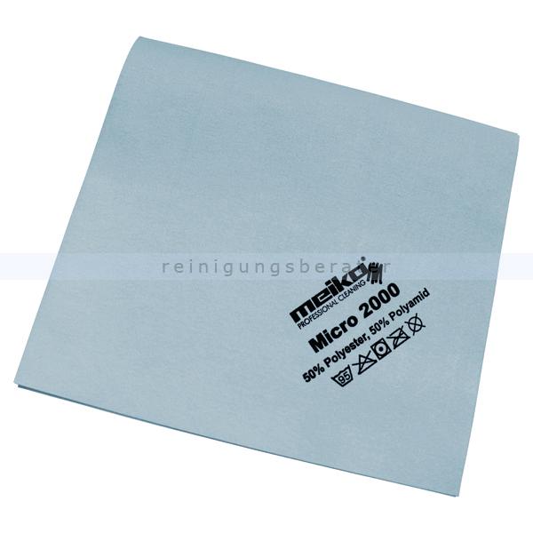 Microfasertuch Meiko Micro 2000 blau 45x40 cm Tuch aus 100 % Microfaser, ca. 14 g 963449