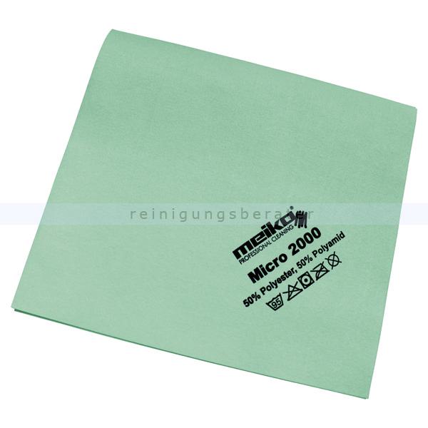 Microfasertuch Meiko Micro 2000 grün 45x40 cm Tuch aus 100 % Microfaser, ca. 14 g 963459