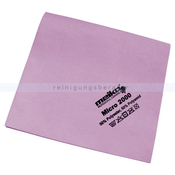 Microfasertuch Meiko Micro 2000 rosa 45x40 cm Tuch aus 100 % Microfaser, ca. 14 g 963439