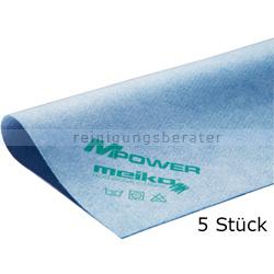 Microfasertuch Meiko MPower blau 40x40 cm