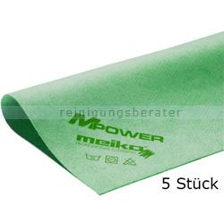 Microfasertuch Meiko MPower grün 40x40 cm - Küche