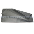 Microfasertuch Metalik 40x75 cm grau