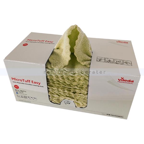 Microfasertuch MicroTuff Easy gelb 30 x 30 cm, 50 Stück