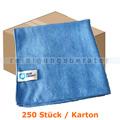 Microfasertuch MopKnight Premium 40 x 40 cm blau Karton