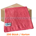 Microfasertuch MopKnight Premium 40 x 40 cm rot Karton