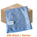 Microfasertuch MopKnight Professional 40 x 40 cm blau Karton