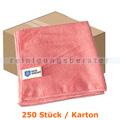 Microfasertuch MopKnight Professional 40 x 40 cm rot Karton