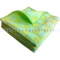 Microfasertuch Mopptex Bambus 40x40 cm, grün-gelb