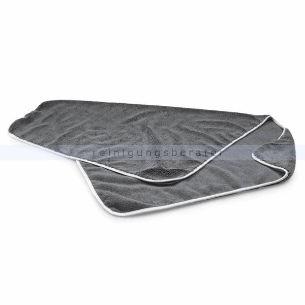 Microfasertuch, Poliertuch LUXUS 60x90 cm grau