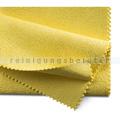 Microfasertuch PU beschichtet gelb 35x40 cm
