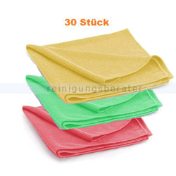 Microfasertuch Reinigungstuch SET, 15 Reinigungstücher