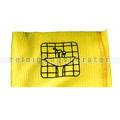 Microfasertuch Rezi Noppy Profi gelb 40x40 cm bedruckt