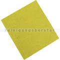 Microfasertuch Rezi, Vliestuch gelb 45x40 cm