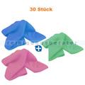 Microfasertuch SET, 30 Wischtücher in 3 verschiedenen Farben