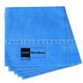 Microfasertuch Taski MicroEasy blau 37x38 cm, 5 Stück