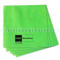 Microfasertuch Taski MicroEasy grün 37x38 cm, 5 Stück