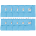 Microfasertuch Unger Microwipe Smart Color 500 blau 10 Stück