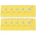 Microfasertuch Unger Microwipe Smart Color 500 gelb 10 Stück