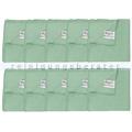 Microfasertuch Unger Microwipe Smart Color 500 grün 10 Stück