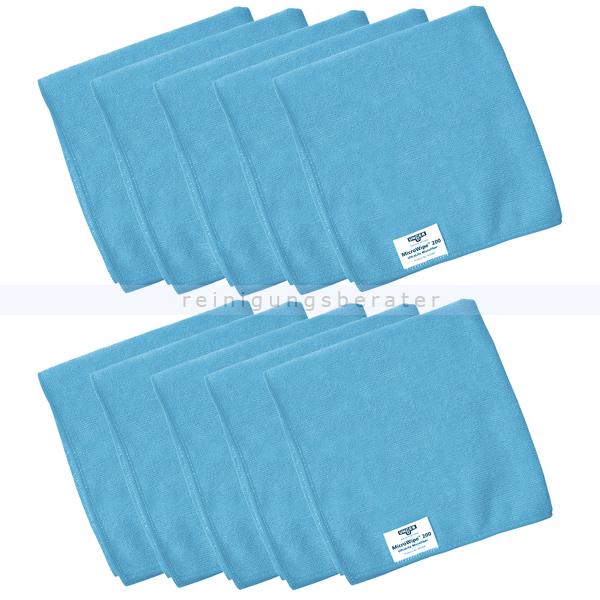 Microfasertuch Unger SmartColor MicroWipe 200 blau 40x40 cm