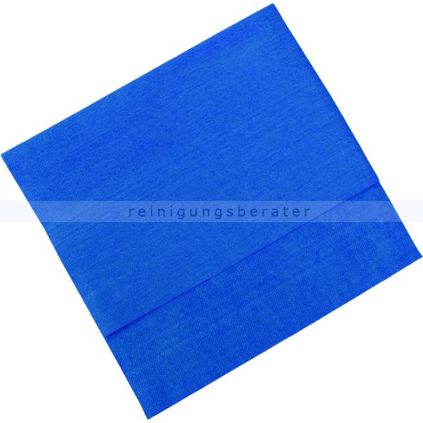 Vileda MicroClean Plus blau, Microfasertuch Premium Microfasertuch mit feiner Porenstruktur 152530