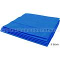 Microfasertuch Vileda MicroClean Plus blau 40x45 cm 5 Stück