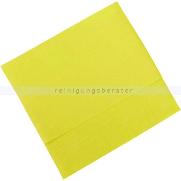 Vileda MicroClean Plus gelb, Microfasertuch Premium Microfasertuch mit feiner Porenstruktur 152538