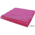 Microfasertuch Vileda MicroClean Plus rot 40x45 cm 5 Stück