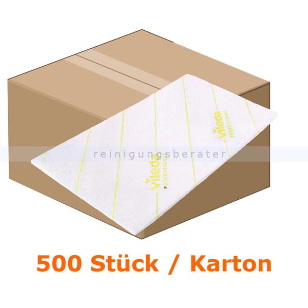 Microfasertuch Vileda MicroOne gelb, 10 x 50 Einwegtücher Einwegmicrofasertücher aus dem Hause Vileda 148760