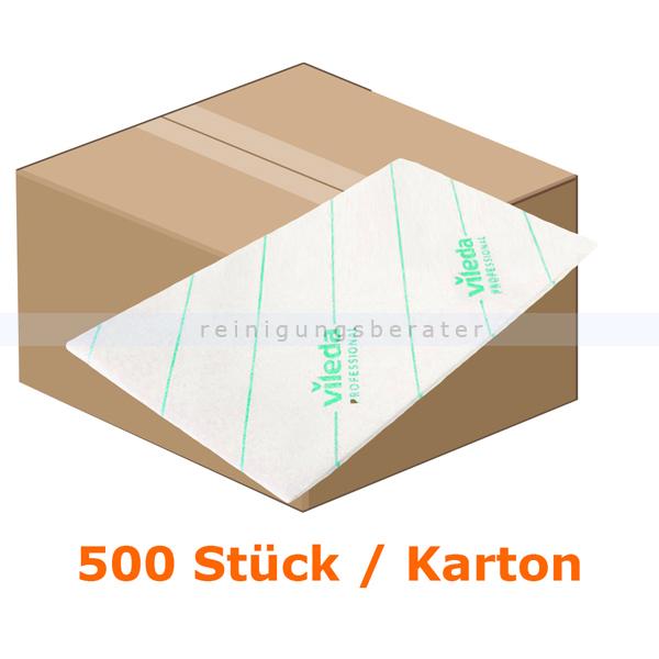 Microfasertuch Vileda MicroOne grün, 10 x 50 Einwegtücher Einwegmicrofasertücher aus dem Hause Vileda 148761
