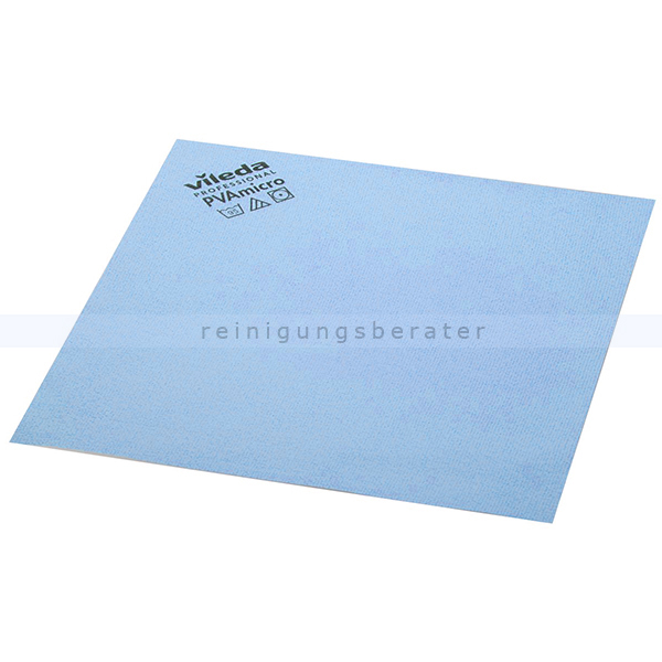 Microfasertuch Vileda PVA micro blau 38 x 35 cm