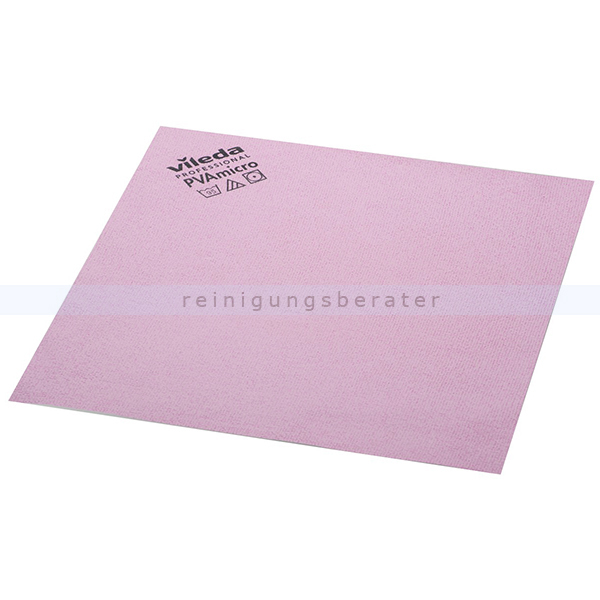 Microfasertuch Vileda PVA micro rosa 38 x 35 cm
