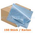 Microfasertuch Vliestuch PROFI 35 x 40 cm blau Karton