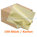 Microfasertuch Vliestuch PROFI 35 x 40 cm gelb Karton