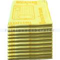 Mikrofasertuch Mopptex Piktogramm Waschraum Gelb 40 x 40 cm