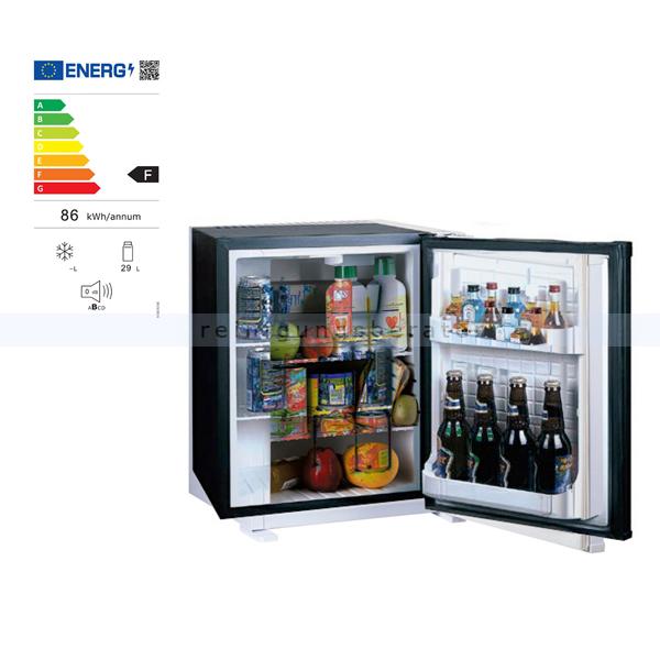 Minibar Simex Black Line Minikühlschrank schwarz 30 L Minikühlschrank, geringer Geräuschpegel und Stromverbrauch 05045