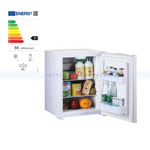 Minibar Simex Hotel Line Minikühlschrank weiß 30 L Minikühlschrank, geringer Geräuschpegel und Stromverbrauch 05139