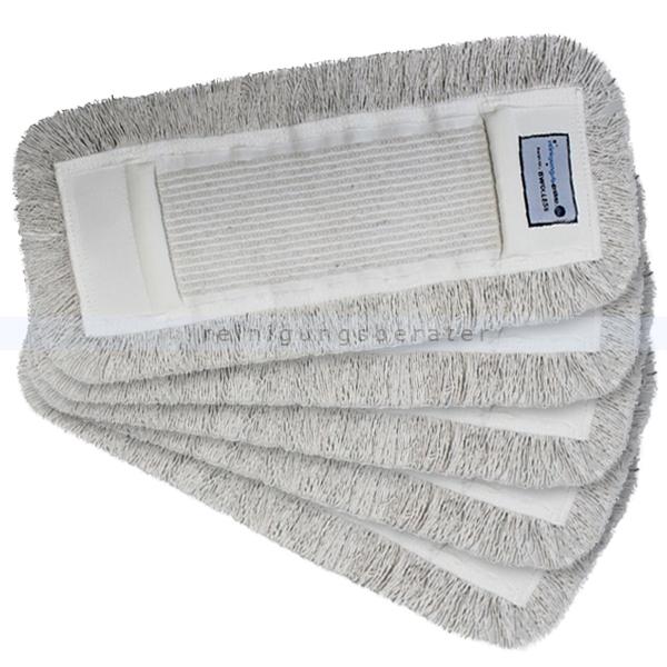 Mop-Set 14 - Wischset mit 5 Baumwollmöppen 50 cm