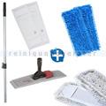 Mop-Set 21 - Wischset m. Microfaser-, Baumwoll-, Chenillemop