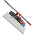 Mop-Set Magnetklapphalter, Teleskopstiel und Mop 40 cm