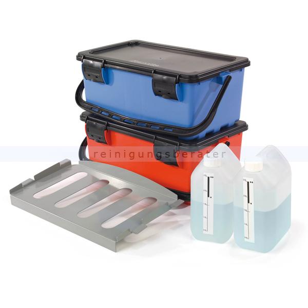 Mopbox Numatic BK11S - Mopmatic-Mopbox blau und rot
