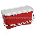 Mopbox TTS Hermetic Eimer mit Deckel und Griff, rot