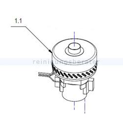 Motor Fimap Saugmotor 24V 310W H950