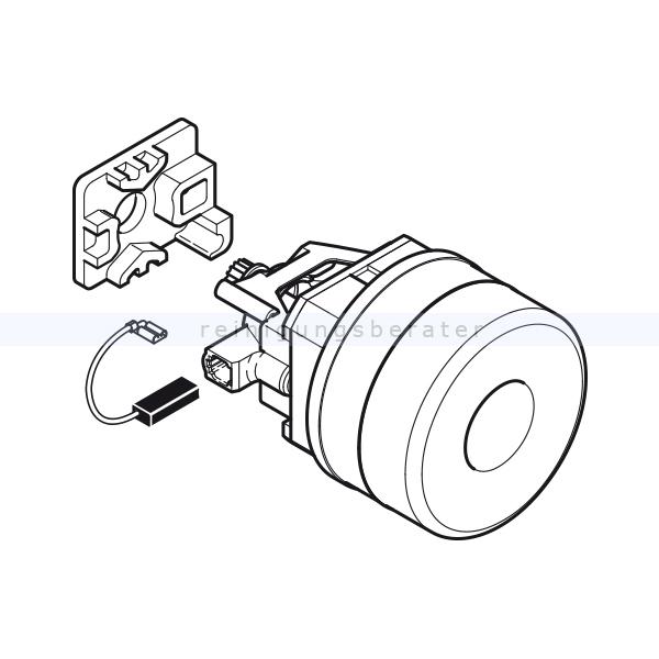 Motoren Sebo Gebläsemotor 220-240V 300, 350 und 450 Evo