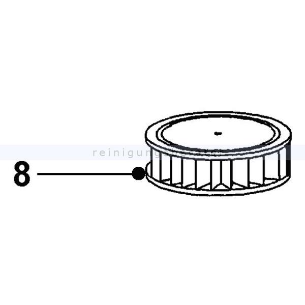 Motorfilter Wirbel für Wirbel W1 Ersatzfilter für Rucksacksauger Wirbel W1 895524.000000